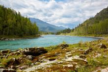 Altai rzeki Katun