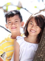 children together outdoor