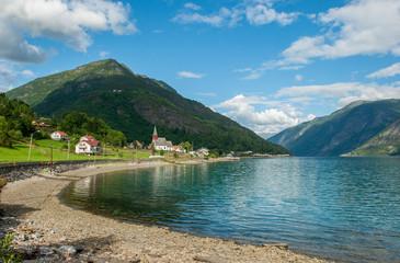View of Lustrafjorden, Norway