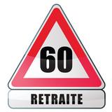 age de la retraite - 60 ans poster