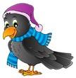Cartoon raven theme image 1
