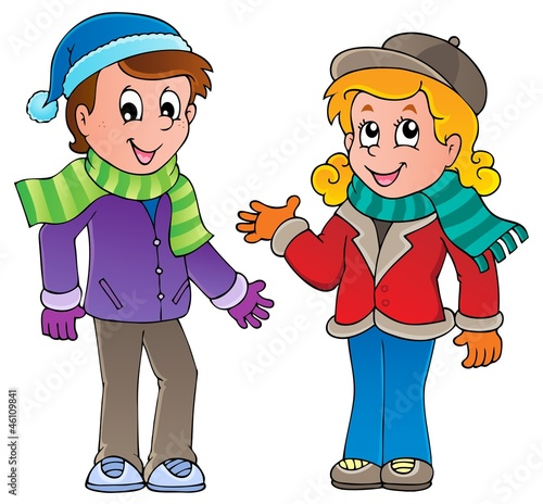 Cartoon kids theme image 1