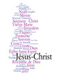 WEB ART DESIGN TAG CLOUD JESUS CHRIST DIEU MESSIE CHRISTMAS  030