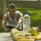 nutrition and hydration after sport poster