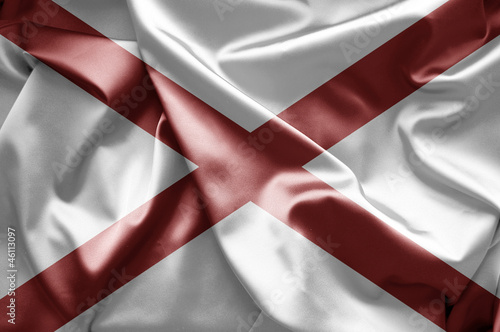 Flag of Alabama (USA)