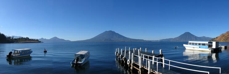 Panorama Atitlansee in Guatemala