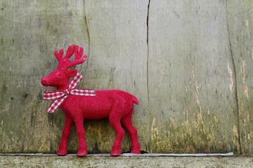 Rudolph mit Schleife