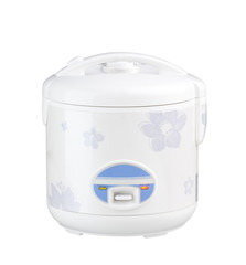 Electric rice cooking pot with keep warm temperature