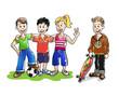 Kinder Sport und Spiel II