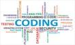 word cloud - coding