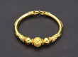 Golden bracelet designed by thai ancient goldsmith