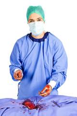 Female cardiac surgeon