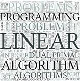 Linear programming Discipline Study Concept