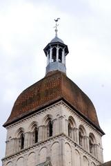 Clocher de l'église des hospices de Beaune