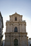 Italy, Sicily, Scicli, St. Michael Baroque church facade