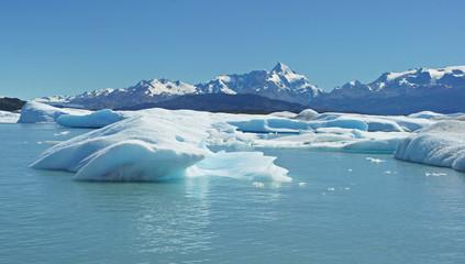 Gletschersee, Lago Argentino, NP Los Glaciares, Argentinien
