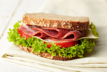 fresh deli sandwich