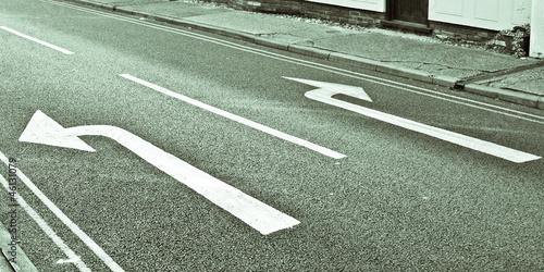 Leinwanddruck Bild Arrows