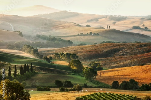 Italian countryside in Tuscany
