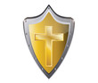 holy cross symbol of the Christian faith vector