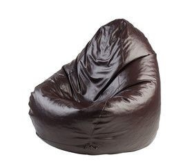 beanbag a comfortable seat isolated