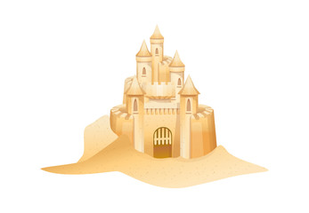 icon sandcastle