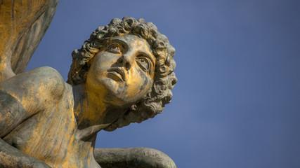 Roma, Vittoriano, statua de il Pensiero (part.)
