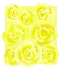 薔薇のフラワーボックス