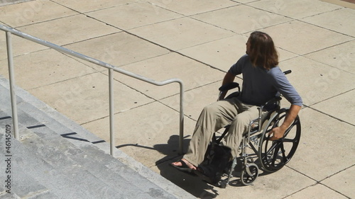 Wheelchair No Ramp Frustration