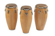 Three of congas the percussion of music band - 46145245