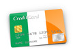 Credit Card covered with Irish flag.