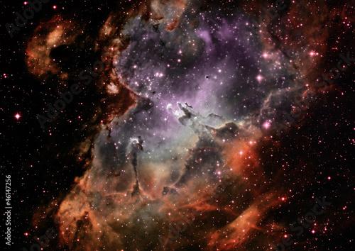 Fototapete Astronomy - Hintergrund - Licht / Schatten