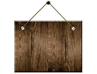altes Holz Schild Strick