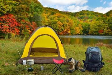 水辺のキャンプ B