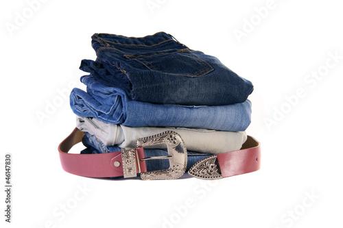 Jeans, Gürtel, Mode