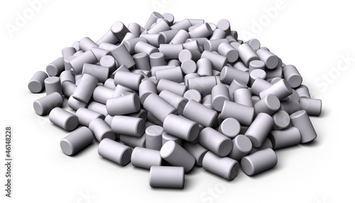 White Plastic Pellets