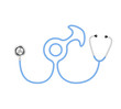 Stethoscope in shape of male symbol