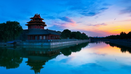 Forbidden City. Beijing, China Timelapse