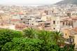 Cagliari, quartiere Villanova, panorama urbano