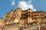 Mehrangarh fortress in Jodhpur, Rajasthan, India