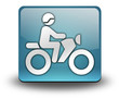 "Light Blue 3D Effect Icon ""Motorbike Trail"""