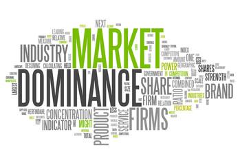 "Word Cloud ""Market Dominance"""