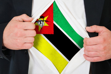 The Mozambique flag
