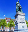 Statue of Wilhelm II on Plein, Hague, Holland