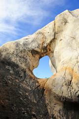 Caliza erosionada, Cerro del Hierro