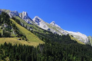 chaîne montagneuse