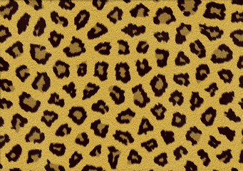 leopard fell fur