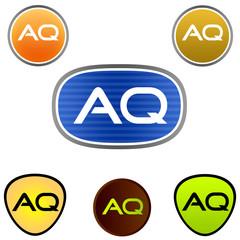 A. Q. Company Logo