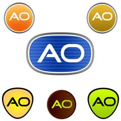 A. O. Company Logo