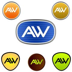 A. W. Company Logo
